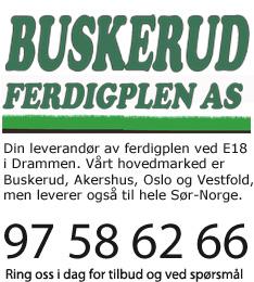Buskerud Ferdigplen er din leverandør av ferdigplen i Buskerud, Akershus, Oslo og Vesfold